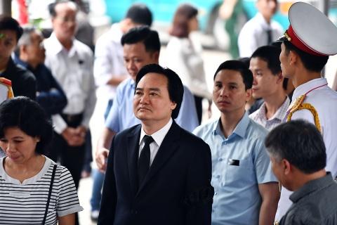 Lanh dao Dang, Nha nuoc va ban be tien biet giao su Phan Huy Le hinh anh 13