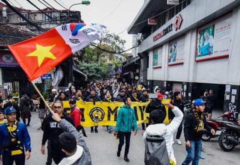 CDV Malaysia nao loan pho co Ha Noi truoc tran chung ket hinh anh 1