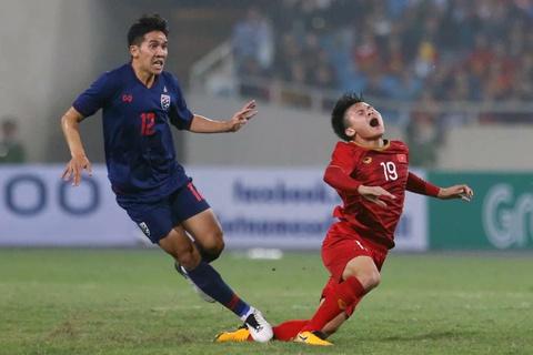 Khoanh khac U23 Viet Nam de bep nguoi Thai kho tin tren san My Dinh hinh anh 9