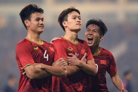 Khoanh khac U23 Viet Nam de bep nguoi Thai kho tin tren san My Dinh hinh anh 11
