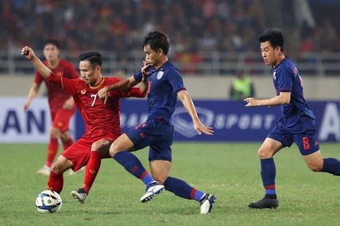 Khoanh khac U23 Viet Nam de bep nguoi Thai kho tin tren san My Dinh hinh anh 1