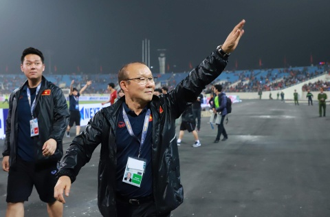 Khoanh khac U23 Viet Nam de bep nguoi Thai kho tin tren san My Dinh hinh anh 15
