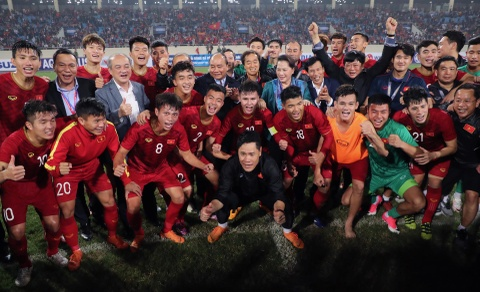 Khoanh khac U23 Viet Nam de bep nguoi Thai kho tin tren san My Dinh hinh anh 17