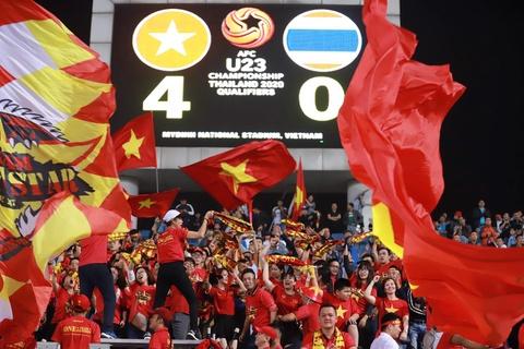 Khoanh khac U23 Viet Nam de bep nguoi Thai kho tin tren san My Dinh hinh anh 12