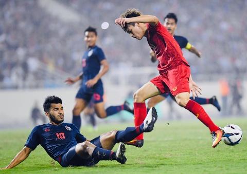 Khoanh khac U23 Viet Nam de bep nguoi Thai kho tin tren san My Dinh hinh anh 8