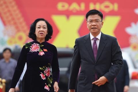 Nhieu lanh dao ve du Dai hoi Dang bo tinh Ha Nam hinh anh