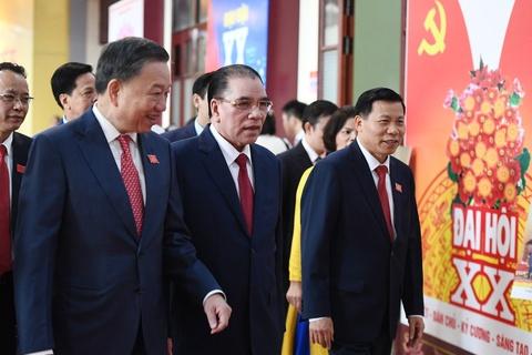 Bo truong Cong an To Lam du Dai hoi Dang bo Bac Ninh hinh anh
