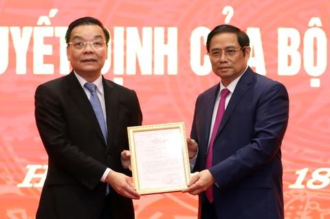 Ong Chu Ngoc Anh lam Pho bi thu Thanh uy Ha Noi hinh anh