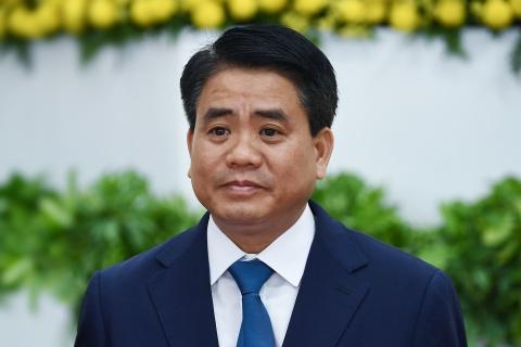 Chuan bi mien nhiem chuc Chu tich Ha Noi doi voi ong Nguyen Duc Chung hinh anh