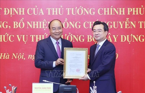 Thu tuong trao quyet dinh bo nhiem cho ong Nguyen Thanh Nghi hinh anh