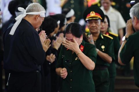 Lanh dao Dang, Nha nuoc tien dua trung tuong Dong Sy Nguyen hinh anh 17