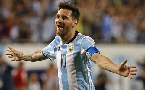 messi tro lai argentina hinh anh