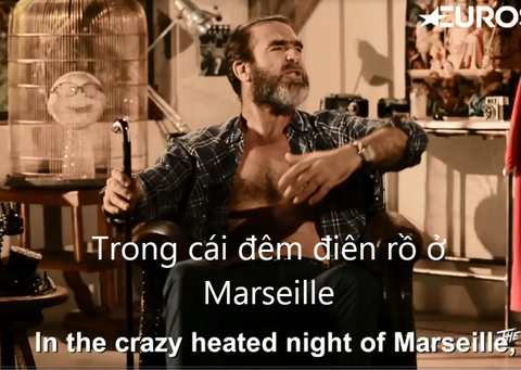 Cantona phanh nguc ao mieu ta Euro, nan gan Ibra bang video hinh anh