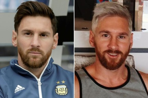 messi nhuom toc hinh anh