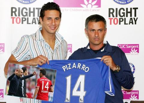 10 ngoi sao tung lam viec cung ca Pep va Mourinho hinh anh 5
