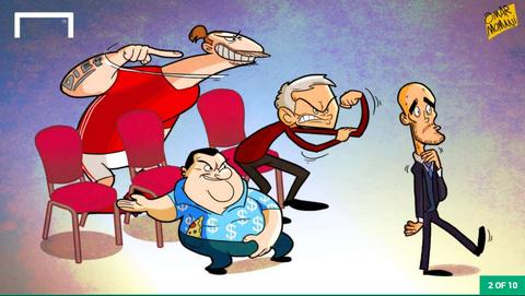 Hi hoa Ronaldo nguoc nhin Messi cuoi cho khong lo hinh anh 2