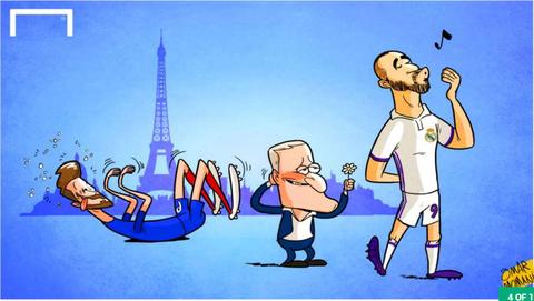 Hi hoa Ronaldo nguoc nhin Messi cuoi cho khong lo hinh anh 4