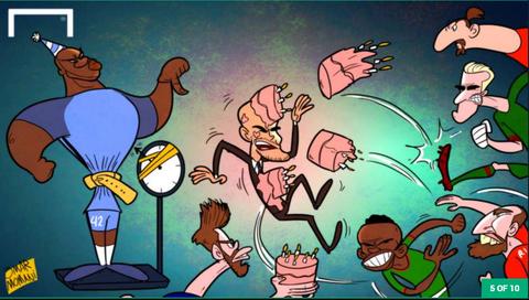 Hi hoa Ronaldo nguoc nhin Messi cuoi cho khong lo hinh anh 5