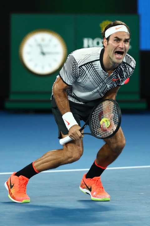 Federer nhoe le trong ngay hon cup bac chien thang hinh anh 10