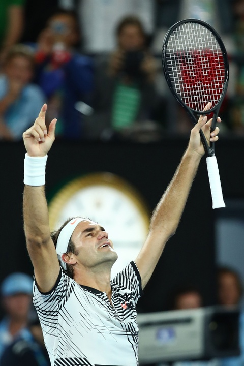 Federer nhoe le trong ngay hon cup bac chien thang hinh anh 13