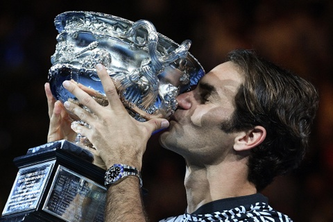 Federer nhoe le trong ngay hon cup bac chien thang hinh anh 15