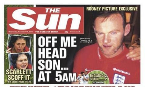 Rooney bat song voi gai la khi vo vang nha hinh anh