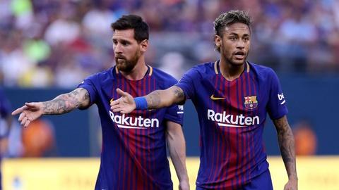Messi da nan ni Neymar o lai bang loi de nghi beo bo hinh anh