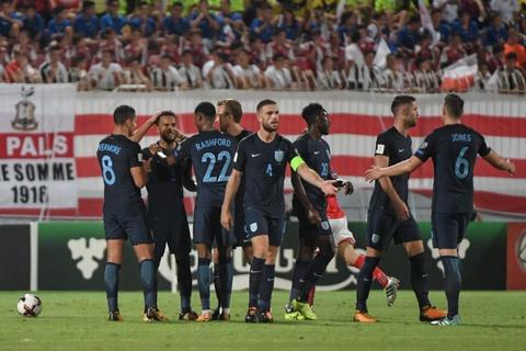 Highlights Malta 0-4 Anh hinh anh