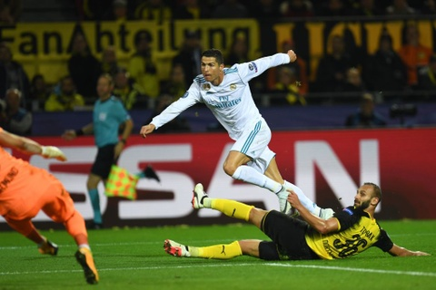 Song sat Ronaldo - Bale toa sang giup Real nhan chim Dortmund hinh anh 12