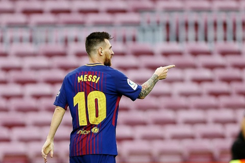 Messi dat thanh tich tot nhat lich su trong ngay buon cua Barca hinh anh 10