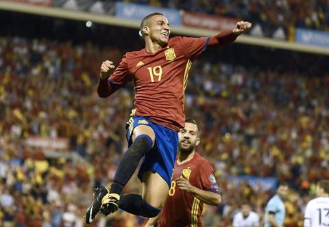 Highlights Tay Ban Nha 3-0 Albania hinh anh