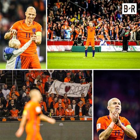 Robben va dong doi chinh thuc o nha xem World Cup hinh anh 10