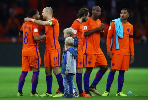 Robben va dong doi chinh thuc o nha xem World Cup hinh anh 8
