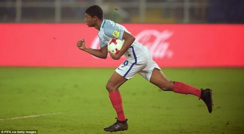 Vui dap Tay Ban Nha 5-2, tuyen Anh vo dich U17 the gioi hinh anh 6