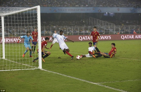 Vui dap Tay Ban Nha 5-2, tuyen Anh vo dich U17 the gioi hinh anh 9