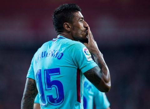 Paulinho va Messi ghi ban, Barca lap cach biet 8 diem voi Real hinh anh 8