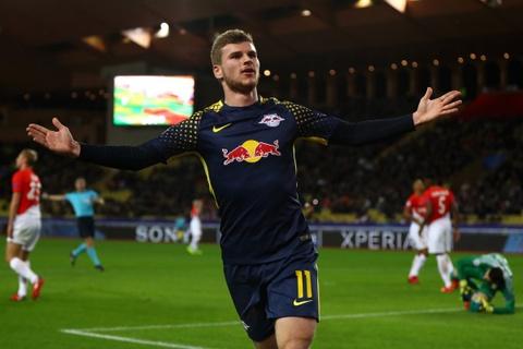 Dai thang 4-1, RB Leipzig loai Monaco ngay vong bang hinh anh