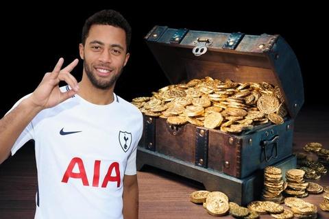Sao Tottenham bat duoc kho bau 1,34 trieu USD hinh anh