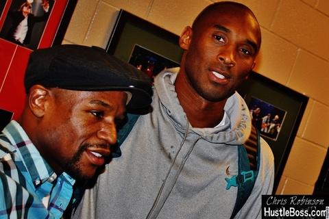Mayweather thach Kobe Bryant dau bong ro 1 trieu USD hinh anh