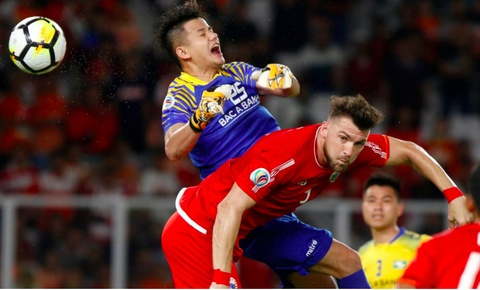 Highlights Persija Jakarta 1-0 Song Lam Nghe An hinh anh