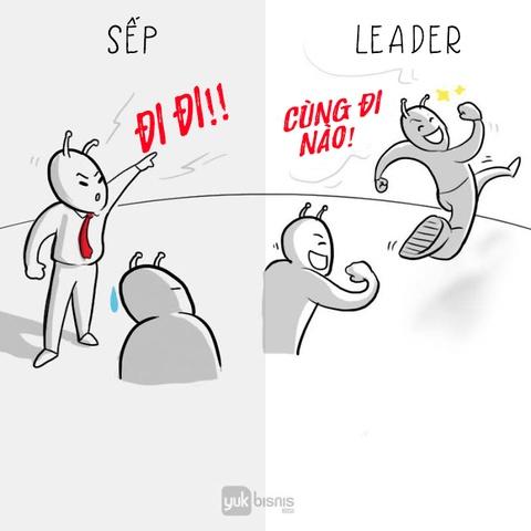 'Sep' va 'leader': Tuong khong khac ma khac khong tuong hinh anh 1