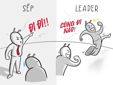 'Sep' va 'leader': Tuong khong khac ma khac khong tuong hinh anh