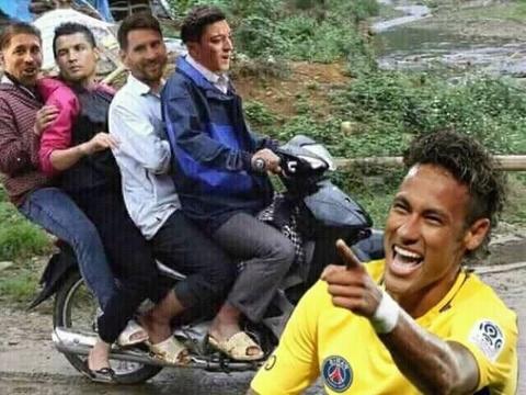 Clip che Neymar tam biet Messi, Ronaldo de vao tu ket World Cup hinh anh