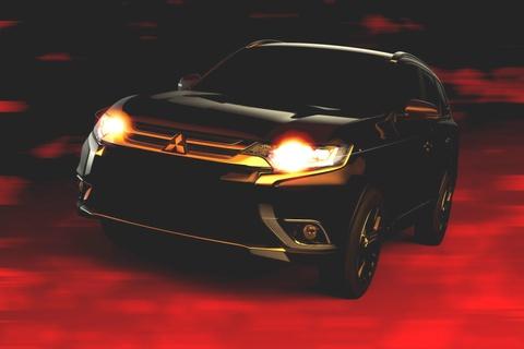 Mitsubishi khoe ngon ngu thiet ke moi voi Outlander 2016 hinh anh