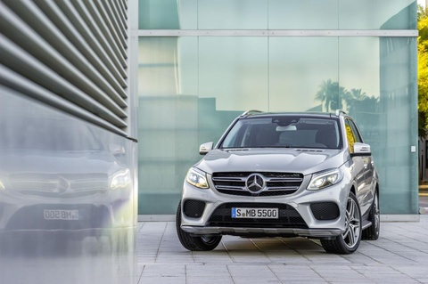 Mercedes-Benz GLE chinh thuc lo dien hinh anh