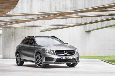 mercedes gla class hinh anh