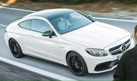 mercedes c class coupe 2016 hinh anh