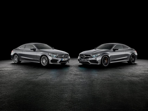 Mercedes-AMG C63 Coupe chinh thuc lo dien hinh anh