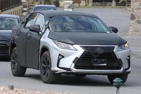 Lexus RX 7 cho tiep tuc xuat hien tren duong thu hinh anh