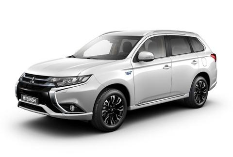 Mitsubishi Outlander PHEV 2016 trinh lang hinh anh